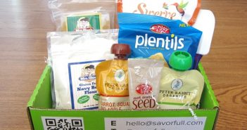 Savorful Monthly Product Sample Boxes - Gluten-Free and Dairy-Free Food