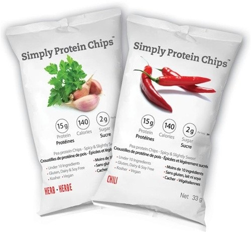 Vegan Protein Snacks for Weight Loss - Simply Protein Chips