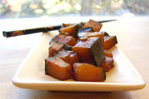 Asian 5-Spice Kabocha Squash