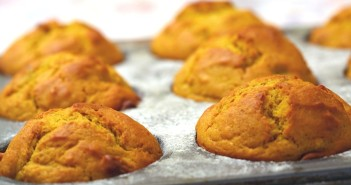 Low Fat Roasted Butternut Squash Muffins Recipe - Deliciously Dairy-Free!