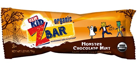 Halloween Treats - Dairy-Free and Non-Dairy Clif Monster Chocolate Mint Bar