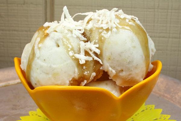 Vegan Bananas Foster Ice Cream Recipe
