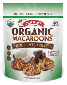 Jennie's Gluten Free Macaroons are also dairy-free and nut-free. Available in organic varieties. Reviews and more info here ...