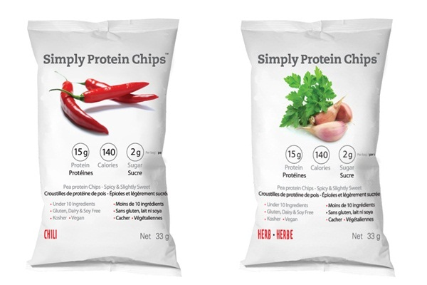 Simply Protein Healthy Chips - Dairy-Free & Soy-Free