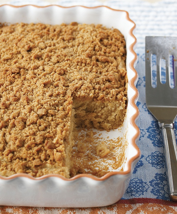 Gluten-Free Coffee Cake with Streusel Topping