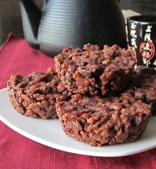 Chocolate-Covered Cranberry Crunch Bars Recipe