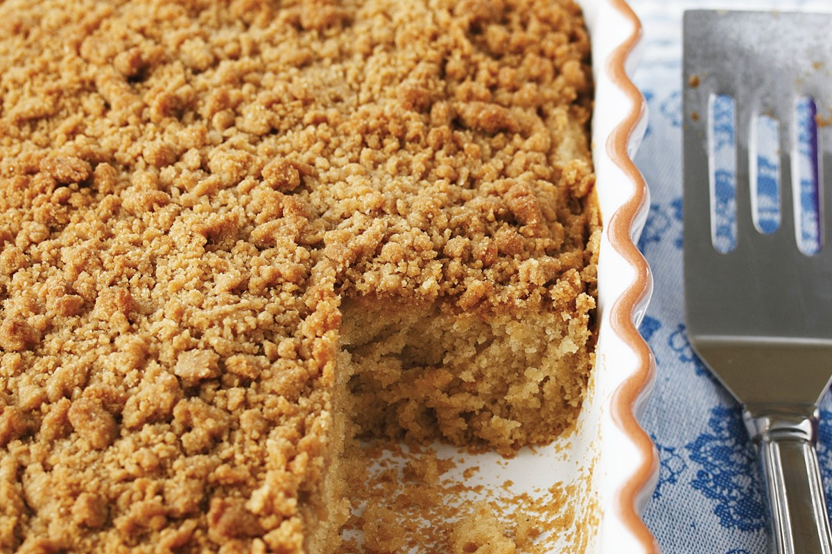 Gluten-Free Vegan Coffee Cake Recipe with Streusel Topping