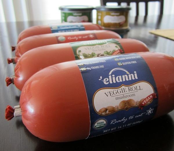 Elianni Gluten-Free Veggie Rolls and Vegan Pates