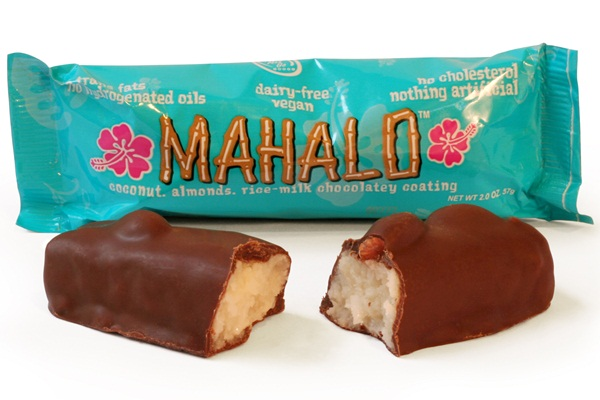 Go Max Go Vegan Candy Bars - Mahalo (compare to Almond Joy)