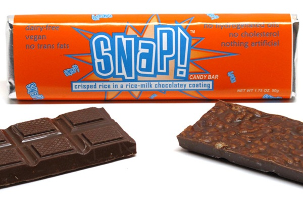 Go Max Go Vegan Candy Bars - Snap! (compare to Nestle Crunch)