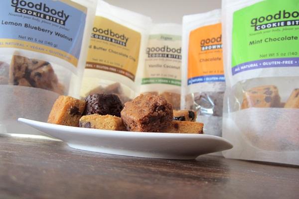 Goodbody Cookie Bites - Gluten-Free, Grain-Free, Low Glycemic