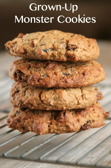 Super Healthy Cookies: Gluten-Free, Dairy-Free Monster Cookies