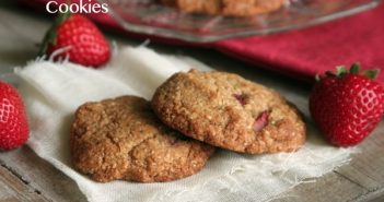Super Healthy Cookies: Gluten-Free, Dairy-Free Strawberry Orange Cookies