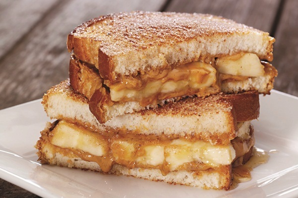 The Spiced Peanut Butter, Banana and Honey Sandwich Recipe