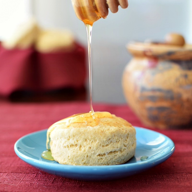 Dairy-Free Thanksgiving Recipes: Mains, Sides and Desserts! (Pictured: dairy-free biscuits from homemade mix)
