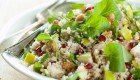 Quinoa with Peppery Watercress, Pears, and Pomegranate