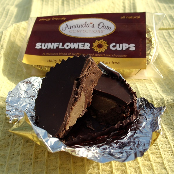 Amandas Own Confections - Sunflower Cups (dairy-free, nut-free, soy-free, gluten-free)