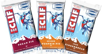 Clif Bar Seasonal Flavors - Pecan Pie, Spiced Pumpkin Pie, Iced Gingerbread (all dairy-free)