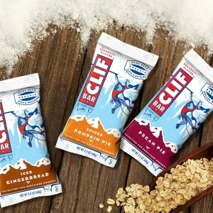Clif Bar Seasonal Flavors - Pecan Pie, Spiced Pumpkin Pie and Iced Gingerbread (all dairy-free)