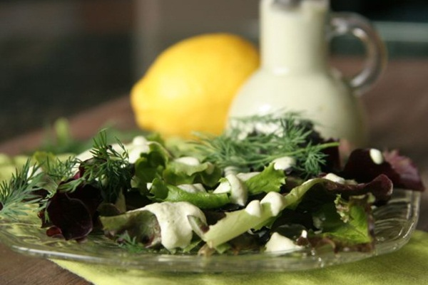 Dairy-Free and Gluten-Free Recipes - Creamy Almond Ginger Dressing