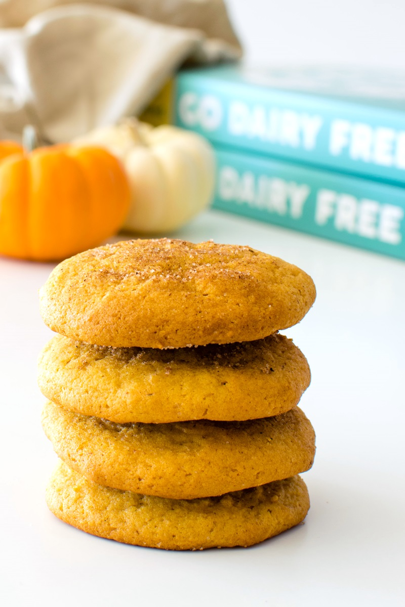Dairy-Free Pumpkin Cookies Recipe from Go Dairy Free, The Guide and Cookbook