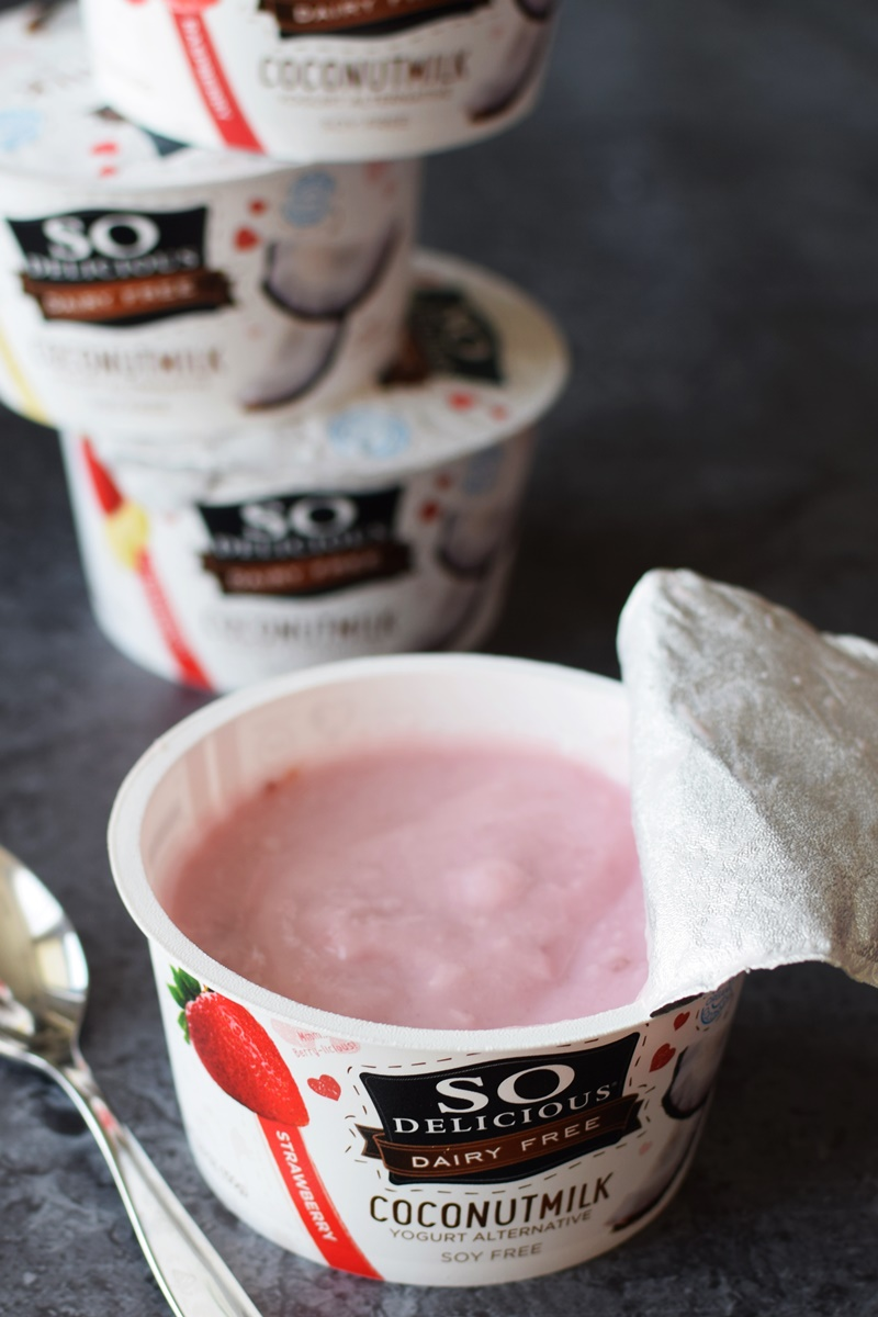 SD Coconut Milk Yogurt - strawberry
