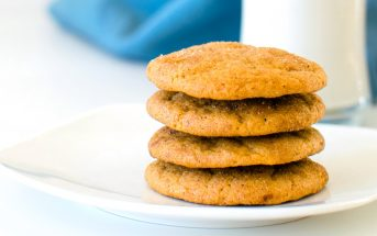 Vegan Sweet Potato Cookies Recipe adapted from the Maple Spice Pumpkin Cookies Recipe in Go Dairy Free, The Guide and Cookbook