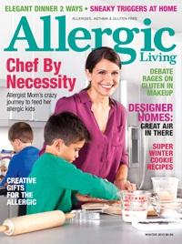 Allergic Living Magazine - Winter 2012