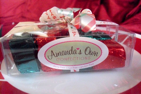 Amanda's Own Dairy-Free and Food Allergy-Friendly Chocolates
