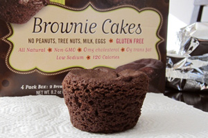 Lucy's Gluten-Free Brownie Cakes Review