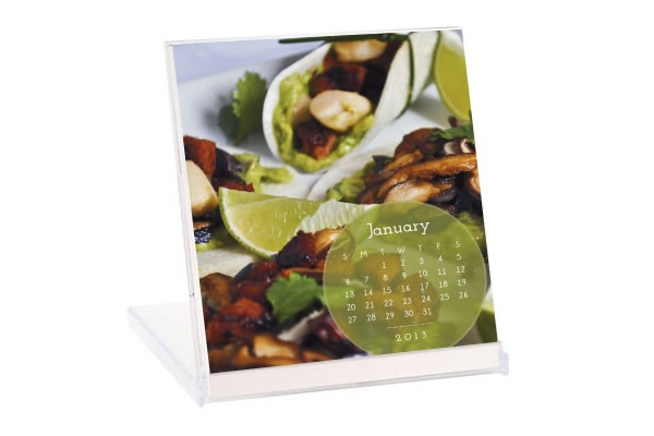 Dairy-Free, Gluten-Free Calendar with Recipes