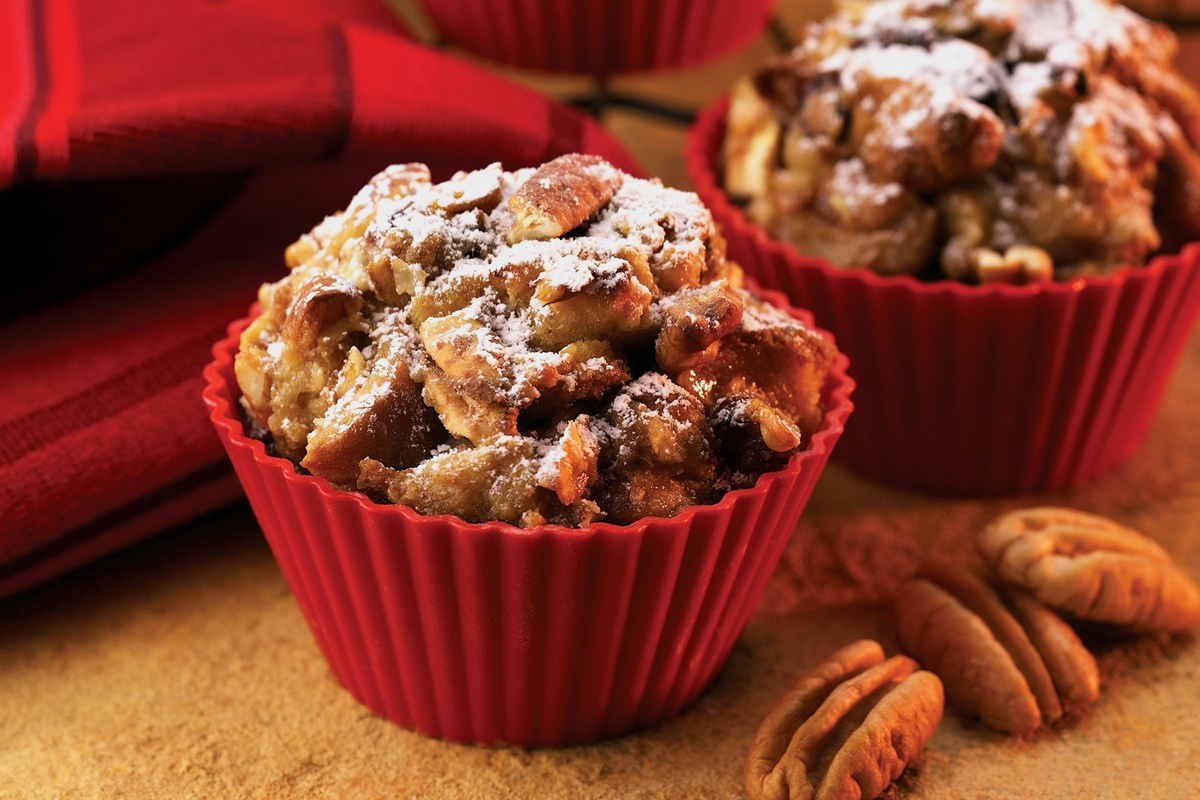 Apple Pecan French Toast Muffins Recipe (Dairy-Free , optionally Gluten-Free, and Easy!)