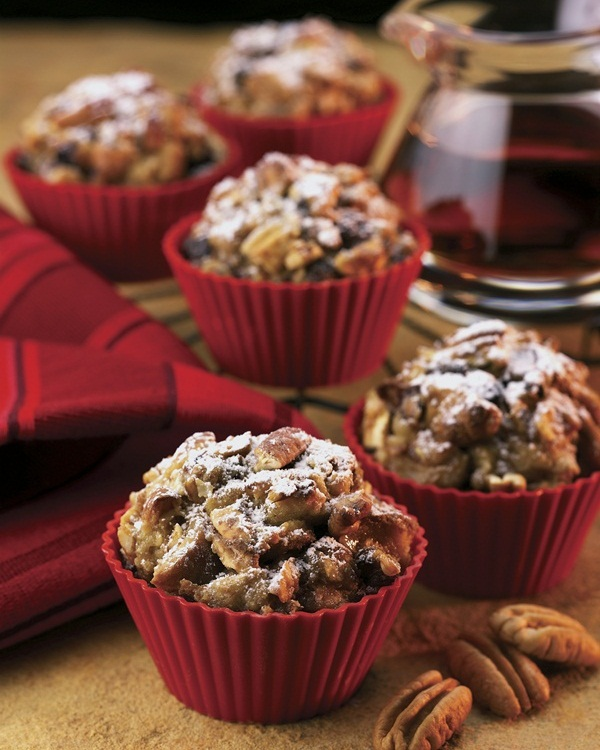 Dairy-Free Apple Pecan French Toast Muffins Recipe