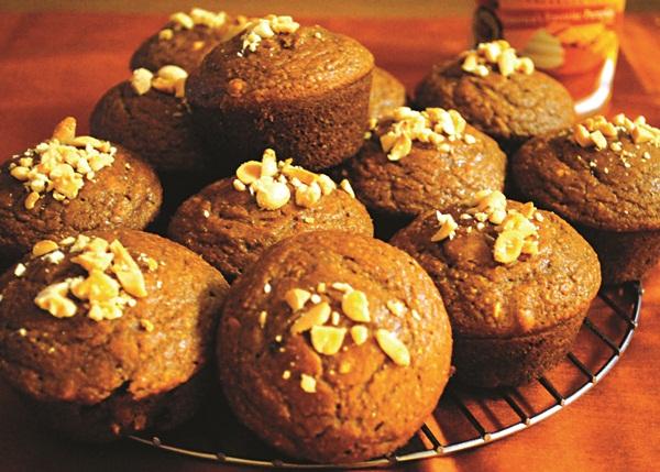 Pumpkin Peanut Muffins Recipe - Dairy-Free