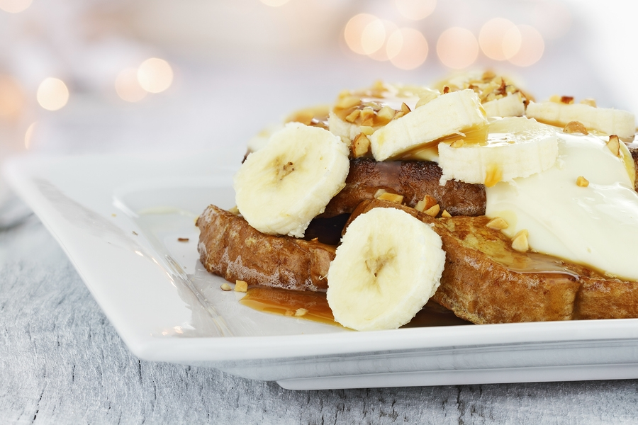 Spiced Gingerbread French Toast - a delightful dairy-free, gluten-free recipe for brunch or any morning!