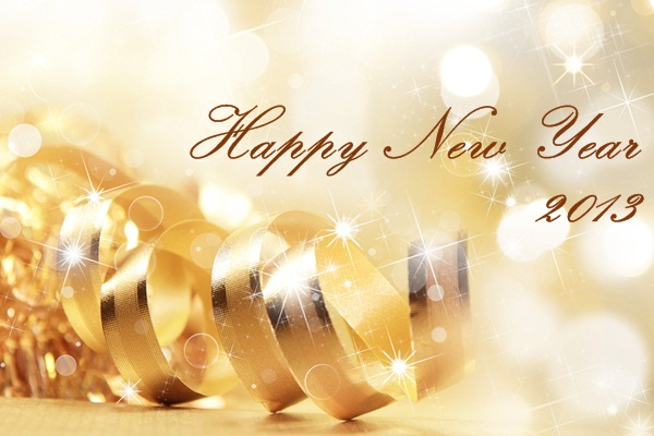 Happy New Year 2013 - From Go Dairy Free