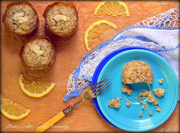 Vegan Lemon Poppyseed Muffins recipe