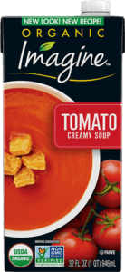 Imagine Organic Creamy Soup Reviews and Info - all dairy-free, gluten-free, and plant-based. Healthy garden blends with a smooth creamy finish. 12 vaieties!