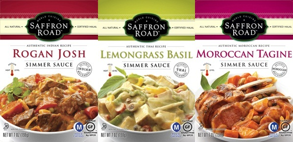 Saffron Road Simmer Sauces - Dairy-Free and Gluten-Free
