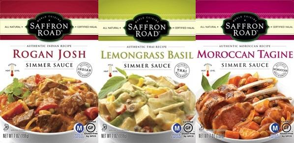 Saffron Road Simmer Sauces - Dairy-Free and Gluten-Free
