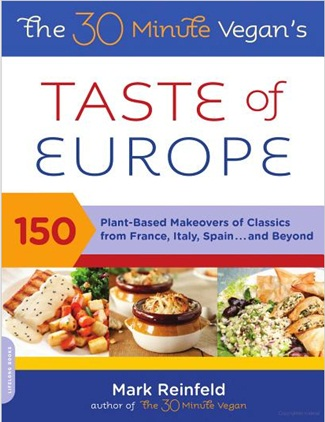 Vegan Cookbooks Giveaway: The 30 Minute Vegan Taste of Europe