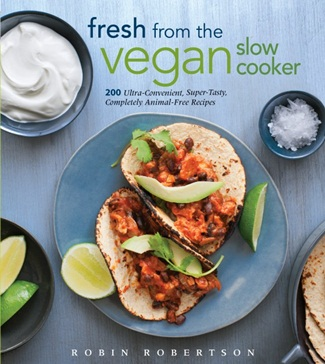 Vegan Cookbooks Giveaway: Fresh from the Vegan Slow Cooker