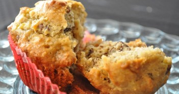 Good Healthy Snacks - Banana Pecan Coconut Muffins Recipe