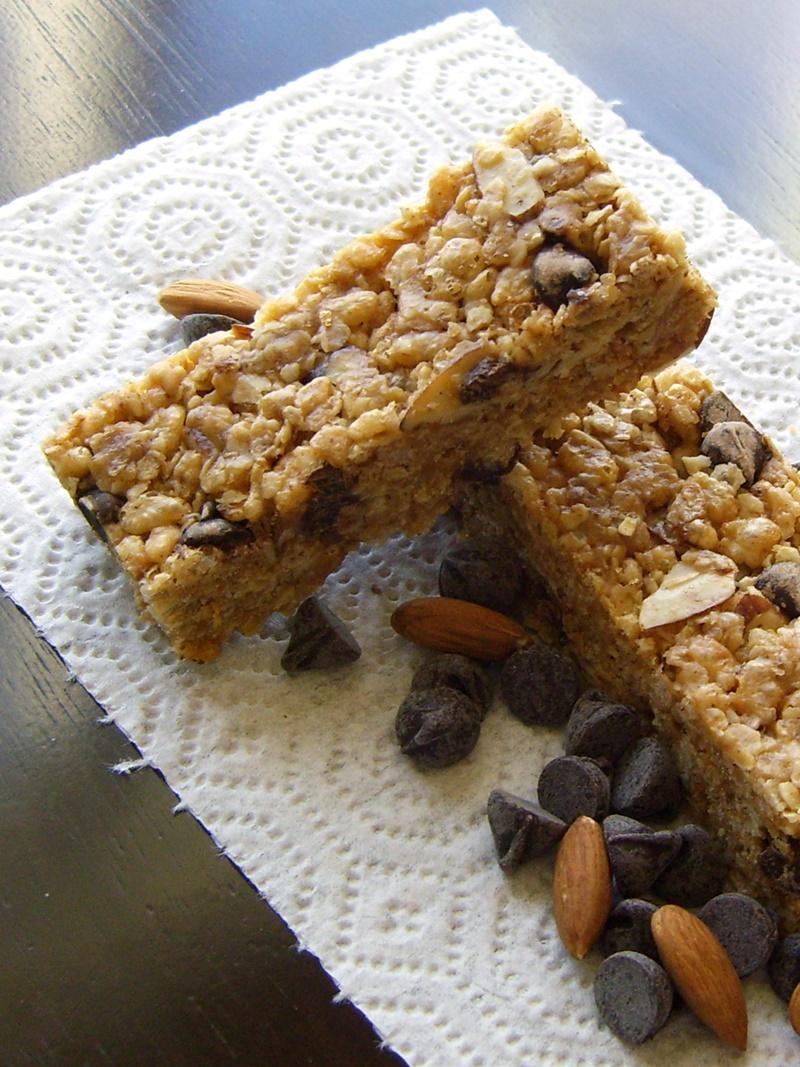 Good Healthy Snacks - Homemade Vegan Granola Bars
