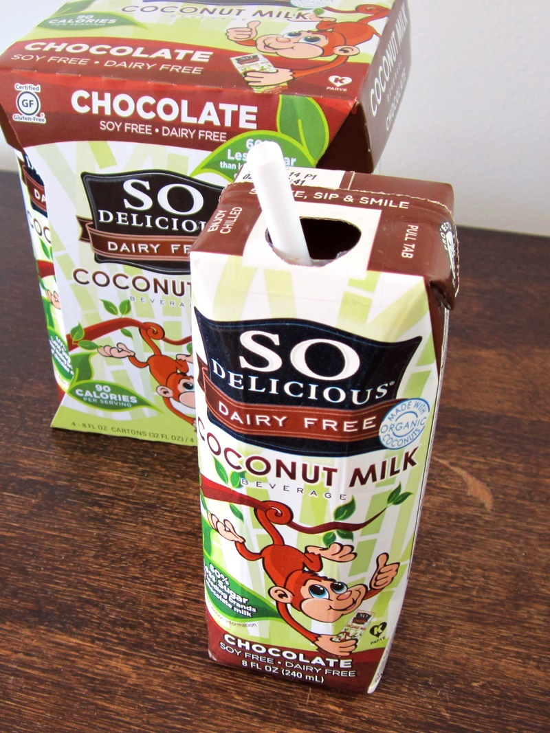 Good Healthy Snacks - Low Sugar Chocolate Coconut Milk Beverage (dairy-free, gluten-free)