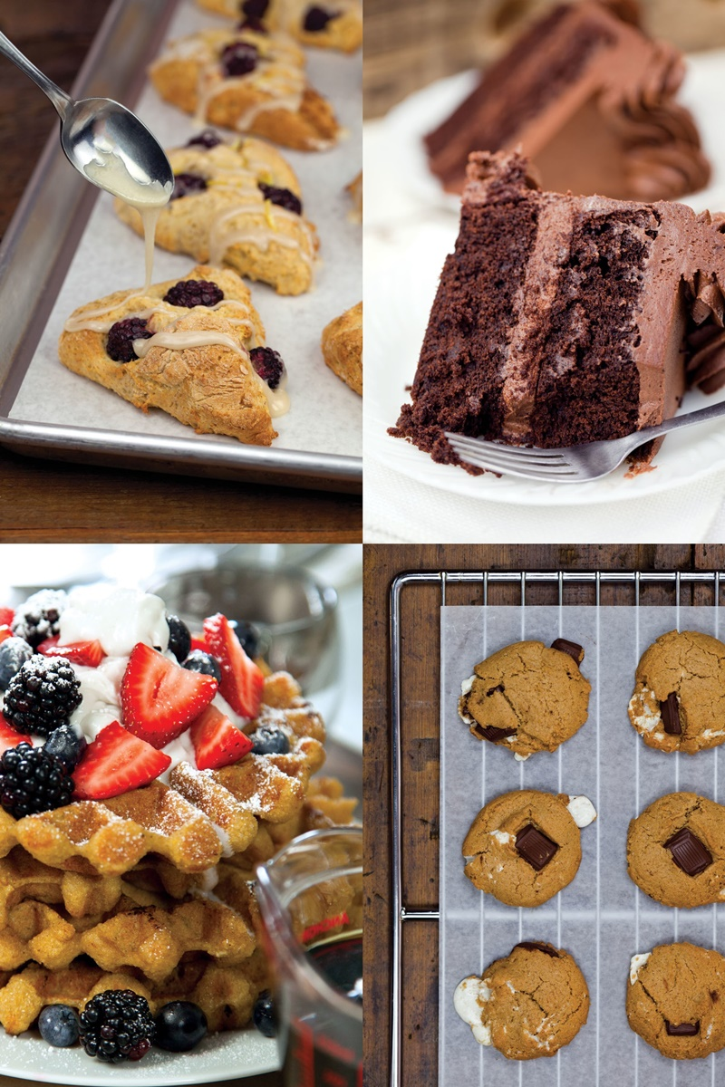 Bunner's Bake Shop is a Gluten-Free Vegan bakery in Toronto! They also have a cookbook.