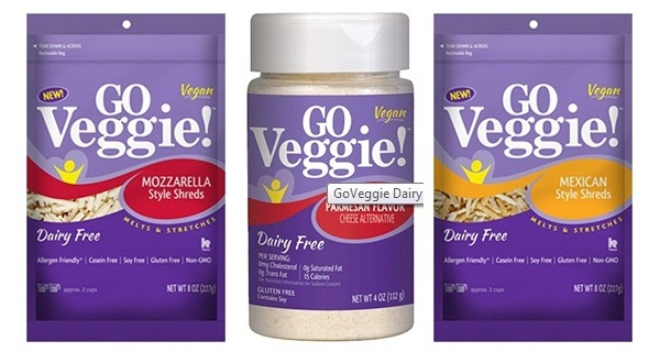 Go Veggie! Dairy-Free Cheese Alternative