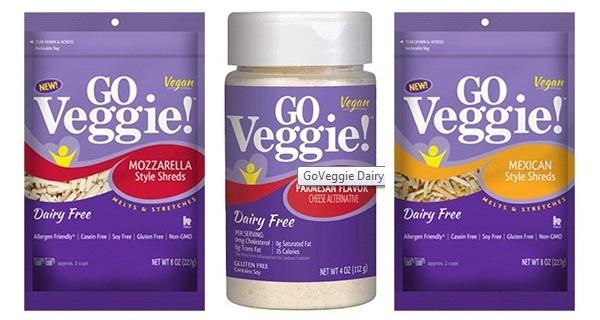 Go Veggie! Dairy-Free Cheese Alternative