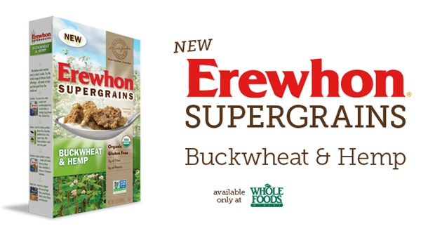 Erewhon Supergrains Buckwheat & Hemp Cereal