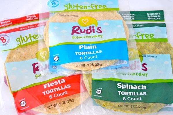 Rudi's Gluten Free Tortillas
